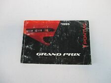 1995 95 Pontiac Grand Prix Owner's Owners Owner Manual  Guide
