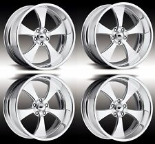 "20"" PRO WHEELS FORGED BILLET WHEELS JET V INTRO FOOSE US MAGS MUSCLE CAR HOT ROD"