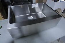 "30"" x 22""  Farmhouse Apron Kitchen Sink, 16-gauge Stainless Steel, #A-40"