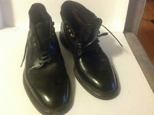 Men's Black Dolce & Gabbana Marsella Leather Brogue Boots 9