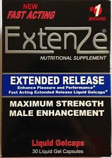 Extenze Extended Release Maximum Strength Male Enhancement 30 Liquid Gel Capsule