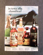 [GCG] L051- Advertising Pubblicità -1977- WILD TURKEY , WHISKEY