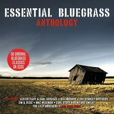 Essential Bluegrass Anthology - 50 Original Bluegrass Classics (2CD) NEW/SEALED