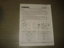 Hummer h2 instalations instructions complémentaire phares lumineuse INSTRUCTION MANUAL