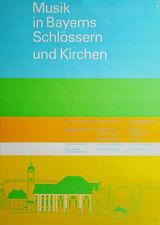 Juegos Olímpicos 1972-cultura Edition cerraduras y las iglesias din a0 OTL Aicher