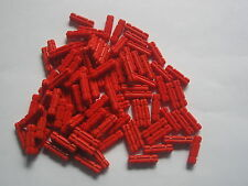 LEGO 101 red Technic axle 2L 2 studs long Hero Factory-Bionicle axles part lot