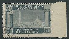 1946 CORPO POLACCO USATO 1 Z - U23-4
