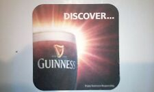 ** GUINNESS ** Discover Delicous Darkness New Beermat / coaster - 2 sided