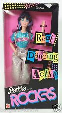 1986 BARBIE AND THE ROCKERS DANA REAL DANCING ACTION #2 NRFB