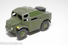 DINKY TOYS 688 FIELD ARTILLERY TRACTOR TRUCK ARMY GREEN EXCELLENT CONDITION