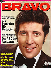 Magazin Bravo 25/1968,Tom Jones,Ricky Shane,Uschi Glas,Michael Landon