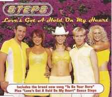 STEPS - Love's Got A Hold On My Heart (UK 3 Tk CD Single Pt 1)