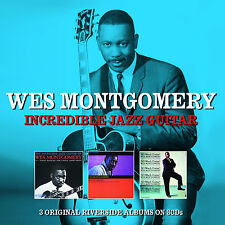 Wes Montgomery - Incredible Jazz Guitar (3 Albums) (3CD 2013) NEW/SEALED