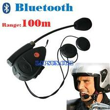 V1 Bluetooth BT Motorcycle Helmet Headset Intercom Interphone System +FM+MP3 New