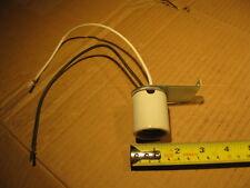 """Lamp holder Ceramic Medium Base Socket LH100 4KV 600VAC 660W metal 3"""" bracket"""