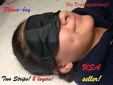 Blindfold eye mask eyemask sleep aid Sunglass light protection USA seller A+