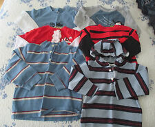 LOT OF 6-TODDLER LONG SLEEVE PULLOVER SHIRTS. SIZE 3T/4T. (PREOWNED).