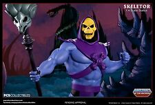 SKELETOR STATUE EXCLUSIVE BUST PROP PCS  MOTU MASTERS OF THE UNIVERSE