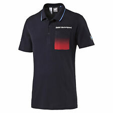Men's Puma BMW Motorsport 2016 Polo Shirt Navy New Size M 761886 01 'Sample'