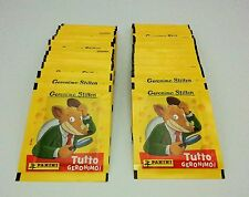 Figurine Panini 50 bustine TUTTO GERONIMO STILTON Sticker packets tuten