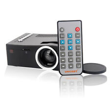 Portable Mini LED HD1080P Projector Multimedia w/ AV VGA SD USB HDMI Home Cinema