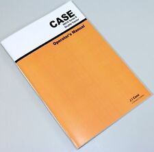 CASE 580B 580CK SERIES B SHUTTLE TRACTOR HYDROSTATIC OWNERS OPERATORS MANUAL