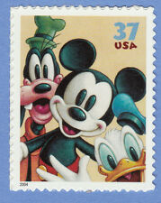 DONALD DUCK GOOFY MICKEY MOUSE Art of DISNEY Friendship STAMP US UNUSED POSTAGE