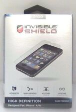 Invisible Shield High Definition Screen Protector for Apple iPhone 4/4s