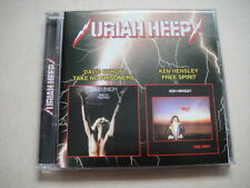 URIAH HEEP David Byron 'Take no Prisoners''/Ken Hensley 'Free Spirit' CD RUS