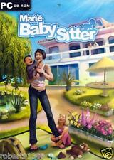 JEU PC CD ROM../........MARIE BABY SITTER......