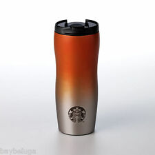 Starbucks Stainless Steel ORANGE GRADIENT OMBRE Lucy Mug Travel Tumbler - 12oz