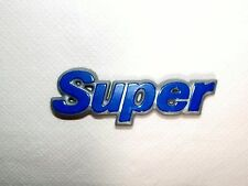 FIAT PANDA SUPER/ SCRITTA POSTERIORE/ REAR NAMEPLATE BADGE