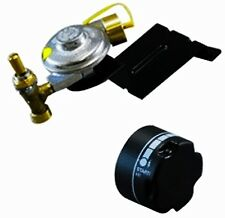 Weber Gas Grill Replacement Knob and Baby Q Valve & Regulator Assembly Kit