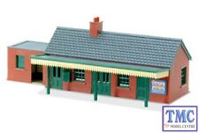 NB-12 Peco N Gauge Country Station Building, brick type x 1