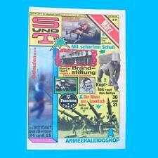 S und T 3/1982 | Fallschirmspringen | DDR-Zeitschrift GST NVA Sport Technik II