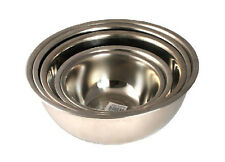 5 PC Stainless Steel Mixing Bowl Set Cookware Utensils Bakeware Prep Bowls