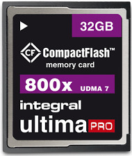 Integral 32GB 800X Ultima-Pro UDMA 7 High Speed Compact Flash Card [INCF32G800W]