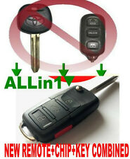 EURO ALin1 FLIP KEY REMOTE FOR TOYOTA CHIP TRANSPONDER KEYLESS ENTRY FOB 4WBX D2