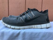 Mens NIKE FREE 5.0+ Grey Athletic Shoes 579959 001 Classic Running Trainers