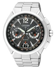 Citizen Mens Promaster Satellite Wave Air Steel watch. Elegant. CC1090-52E