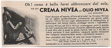 Pubblicità epoca CREMA NIVEA DONNA SOAP ITALY reklame advert werbung publicitè