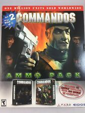 NEW COMMANDOS BEHIND ENEMY LINES WWII & BEYOND CALL OF DUTY PC GAME Win EIDOS