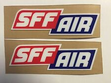 Showa SFF AIR Upper Fork Stickers Thick 16mil - Suspension KYB A Kit Pro Circuit