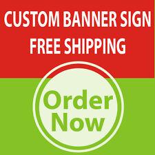 5' x 5' Custom Business Sign Banner High Quality Vinyl