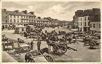 Clifden, Co. Galway. Market Day by Lawrence.