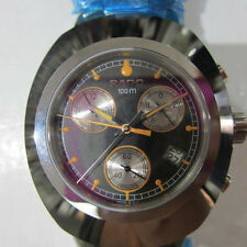 RADO DIASTAR MEN'S WATCH CHRONO ALL S/S SAPPHIRE ORIGINAL SWISS R12638153 NEW