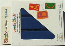 # Sizzix Doodle Block Uppercase Alphabet Dies 38-0982 FREE POST AUST ONLY