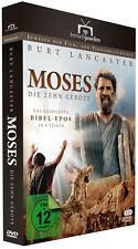 MOSES - Die zehn Gebote (mit BURT LANCASTER) - Komplette Bibel-Epos in 6 Teilen