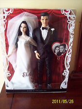 Barbie Elvis and Priscilla WEDDING Dolls Giftset from 2008 Mattel  L9632