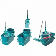 Leifheit Clean Twist XL Rectangle Mop/Sweeper Set With Mop And Spin Bucket,